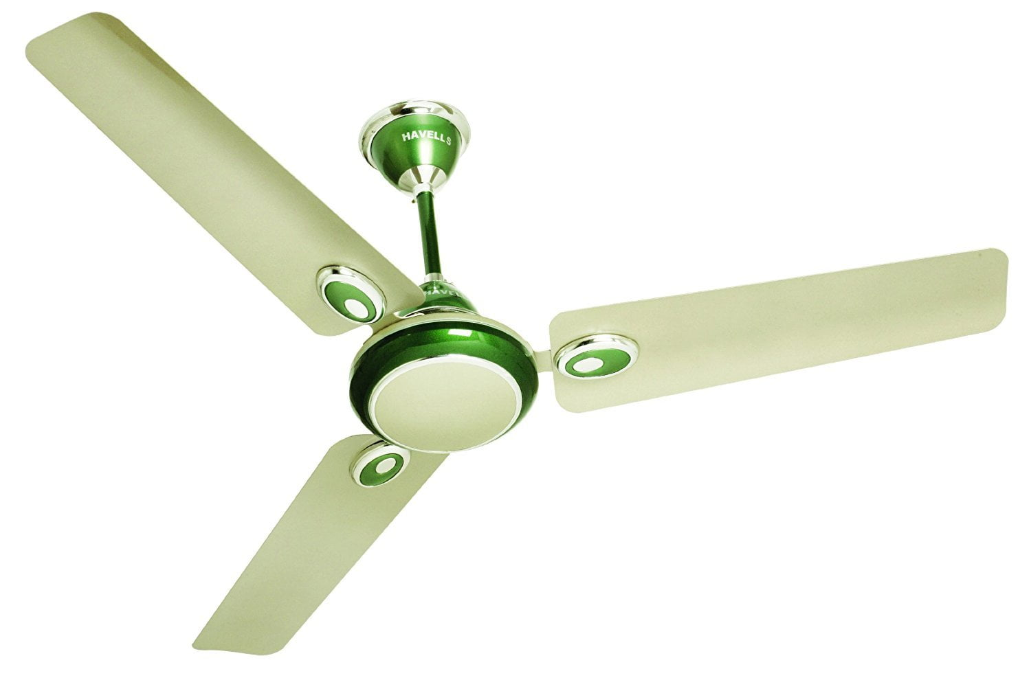 A ceiling fan can help air circulate more efficiently