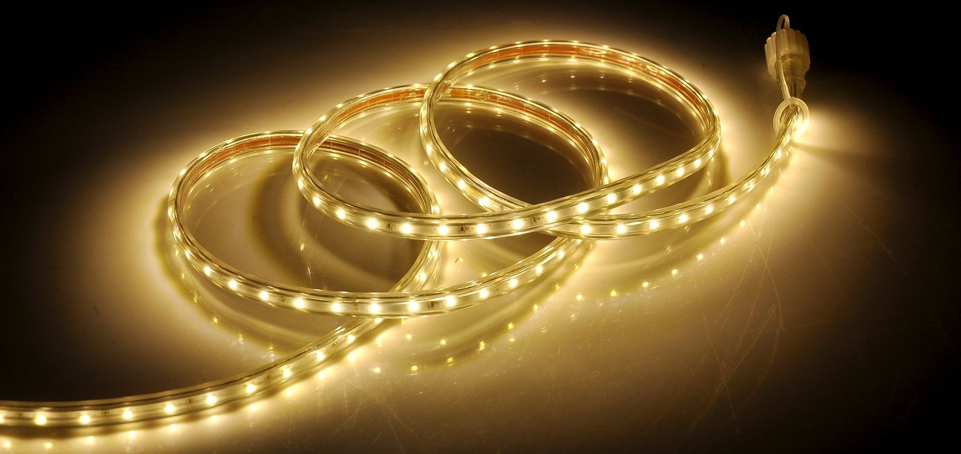 the halogen lights ban may make LED bulbs like these hose lights more common
