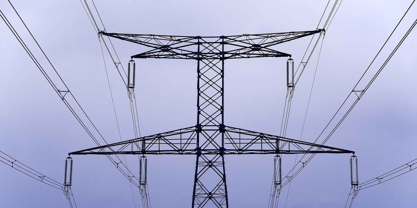 electric poles and wires