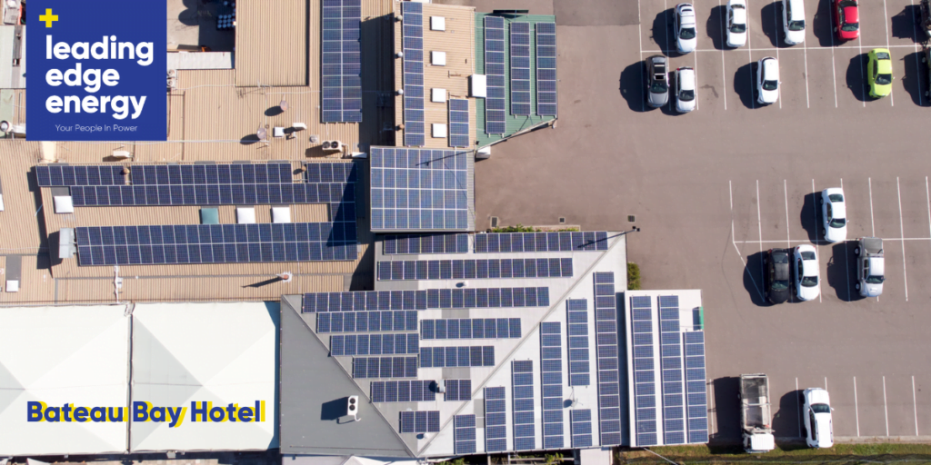 Bateau Bay Hotel's Solar Power System