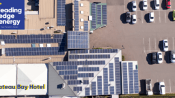 Installing Solar Power for Business - The Bateau Bay Hotel solar panels