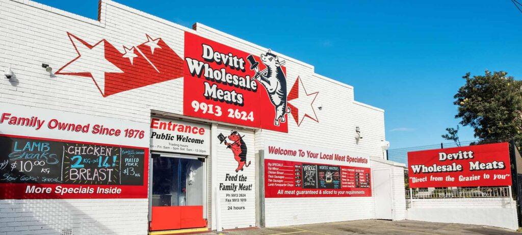 Devitt Wholesale Meats's Storefront (Leading Edge Energy Client)