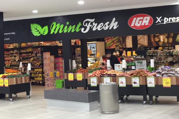 Mint Fresh IGA Storefront